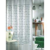 Sealskin Sayings 211401310 zasłona prysznicowa