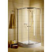 Radaway Classic A 300100101 kabina prysznicowa półokrągła 80x80 cm