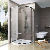 Ravak Pivot 37677C00Z1 kabina prysznicowa półokrągła 90x90 cm