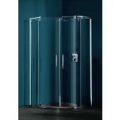 Huppe Refresh pure 5-kąt 9P1301092321 drzwi prysznicowe