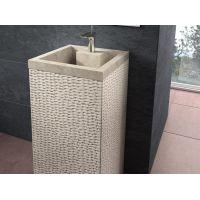Bathco Spain Borneo 00330 umywalka kwadratowa 45x45 cm