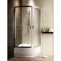 Radaway Premium Plus A 1700 304110101N kabina prysznicowa półokrągła 80x80 cm