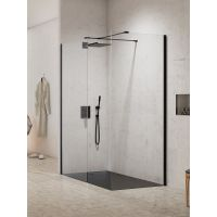 New Trendy New Modus Black EXK1288 kabina prysznicowa walk-in