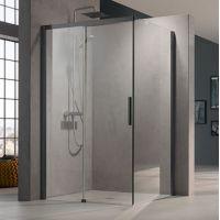 Kermi Nica czarna NID2R/L NITWR100203PK ścianka prysznicowa 100 cm