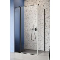 Radaway Nes Black KDJ 100321005401L drzwi prysznicowe uchylne