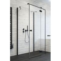 Radaway Essenza New Black KDJ 3840515401 ścianka prysznicowa 80 cm