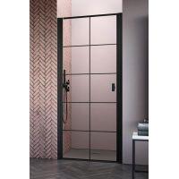 Radaway Nes Black DWJ I 100261005455L drzwi prysznicowe uchylne