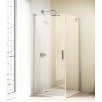 Huppe Design elegance 4-kąt 8E1004087322 ścianka prysznicowa 90 cm