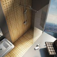 Ravak GW9WA0C00Z1 ścianka prysznicowa 100 cm
