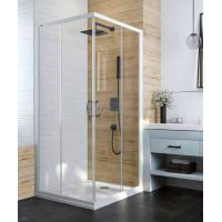 Sanplast Basic 600450020001400 drzwi prysznicowe rozsuwane
