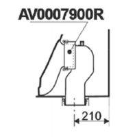 Roca AV0007900R kolanko