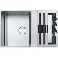 Franke Box 1270617529 zlewozmywak stalowy 79x51 cm