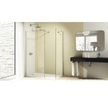 Huppe Design elegance 4-kąt 8E1101092322 ścianka prysznicowa 80 cm