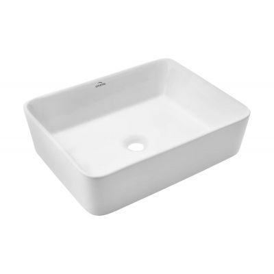 Invena Nyks CE11001 umywalka prostokątna 47.5x37.5 cm