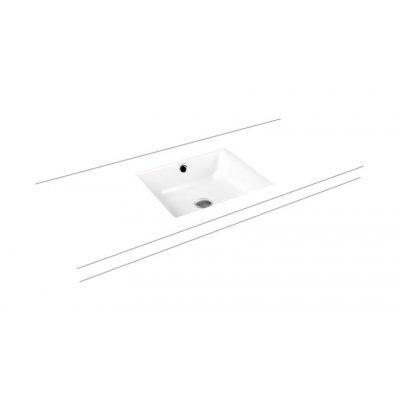 Kaldewei Puro 900906003001 umywalka prostokątna 46x38.5 cm