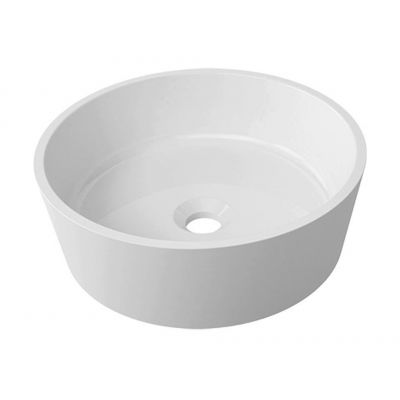 Omnires Marble+ BariUNBP umywalka okrągła 38x38 cm
