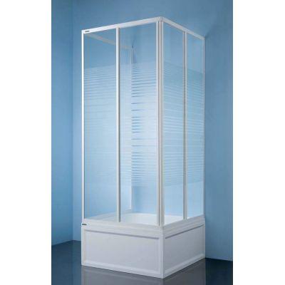 Sanplast Classic 600013082001410 kabina prysznicowa kwadratowa 80x80 cm
