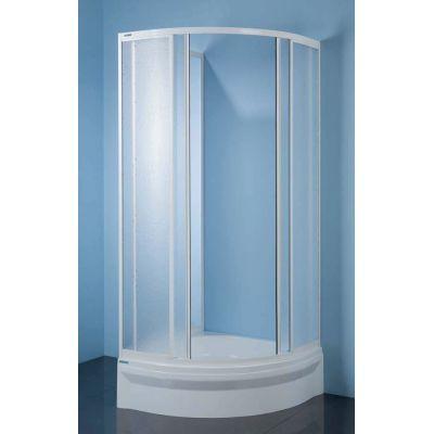 Sanplast Classic 600013112201410 kabina prysznicowa półokrągła 80x80 cm