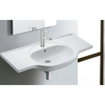 Bathco Spain Bucarest 4103 umywalka półokrągła 102x50 cm
