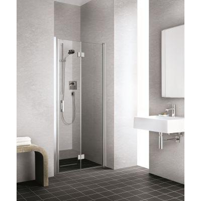 Kermi Liga LI 2S LI2SR08020VPK drzwi prysznicowe składane