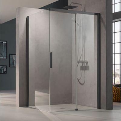 Kermi Nica czarna NID2R/L NITWL075203PK ścianka prysznicowa 75 cm