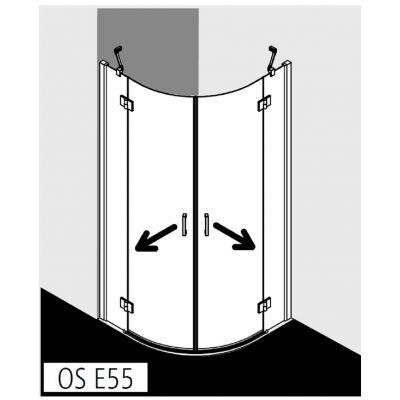 Kermi Osia OS E55 OSE5509020VPK kabina prysznicowa