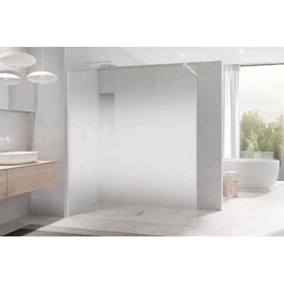Kermi White Line XB WIA XBWIA0802044K ścianka prysznicowa walk-in 80 cm