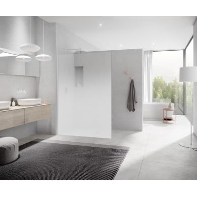 Kermi White Line XC XCWIO1402044K ścianka prysznicowa walk-in 138 cm