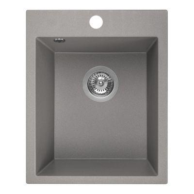Laveo Chichi SBH510T zlewozmywak granitowy 48x39 cm