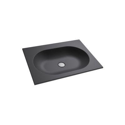 Massi Raja MSU0705CM umywalka prostokątna 49.5x39.5 cm