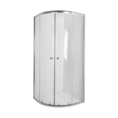 Invena Vitoria AK49195 kabina prysznicowa półokrągła 90x90 cm
