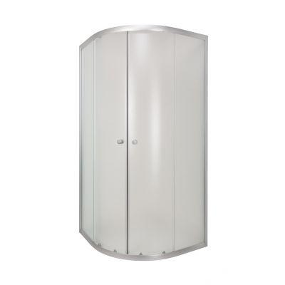 Invena Vitoria AK49196 kabina prysznicowa półokrągła 90x90 cm
