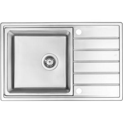 Deante Avior ZPA0113 zlewozmywak stalowy 78x50 cm